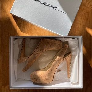 *Reserved* Brian Atwood 'Milena' chain heel pump